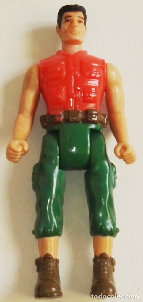 Action man: Figura Action Man en miniatura - Hasbro, Mcdonald´s 2001 - Foto 1 - 178879615