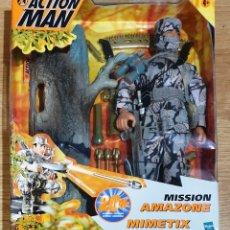 Action man: ACTION MAN MISSION AMAZONE MIMETIX. HASBRO. NUEVO EMBALAJE ORIGINAL.. Lote 179056692