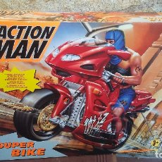 Action man: ACTION MAN SUPER BIKE + MUÑECO POLICE. Lote 181199430