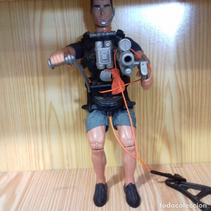 FIGURA ACTION MAN HASBRO 2001 (Juguetes - Figuras de Acción - Action Man)
