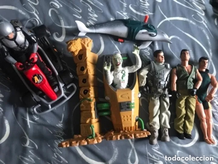 LOTE FIGURAS ACTION MAN (Juguetes - Figuras de Acción - Action Man)