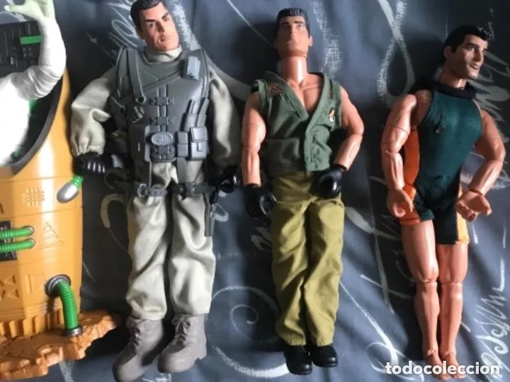Action man: LOTE FIGURAS ACTION MAN - Foto 3 - 182795267
