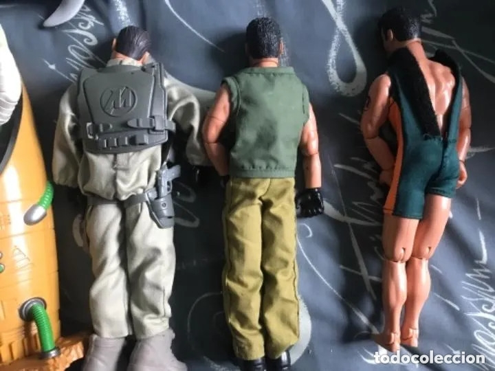 Action man: LOTE FIGURAS ACTION MAN - Foto 4 - 182795267