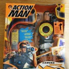 Action man: ACTION MAN CAMERA MISSION. HASBRO. NUEVO EN CAJA ORIGINAL.. Lote 183609162