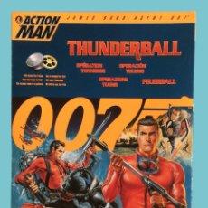 Action man: ACTION MAN 30 CM - JAMES BOND 007 - THUNDERBALL - EDICIÓN LIMITADA 1997 - HASBRO. Lote 183610382