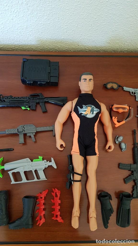 Action man: Figuras Action Man - Foto 2 - 184460630