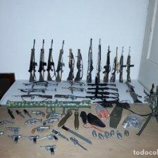 Action man: ENORME LOTE DE ARMAS ACTION MAN AÑOS 70 HASBRO. GEYPERMAN. Lote 184890433