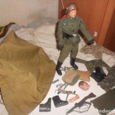 Action man: LOTE 1:6 GEYPERMAN, BLUE BOX, DRAGON, II GUERRA, COMBATE, CASCO METAL, ARMAS..COLECCIONISTAS. Lote 184895997