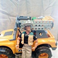 Action man: LOTE TODOTERRENO AMAZON TRACKER 4X4 + MUÑECO ACTION MAN HASBRO 1998. Lote 186132430