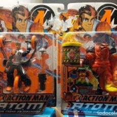 Action man: ACTION MAN ATOM PACK DE 2 DE HASBRO 2006. Lote 190494267