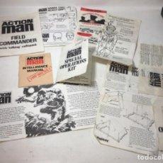 Action man: LO DE COLECCIÓN ORIGINAL CATÁLOGOS MUÑECO ACTION MAN. Lote 194273885