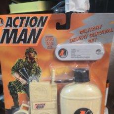 Action man: BLISTER SET ACTION MAN AÑO 1997 HASBRO INTERNACIONAL MILITAR SUPERVIVENCIA. Lote 195759737