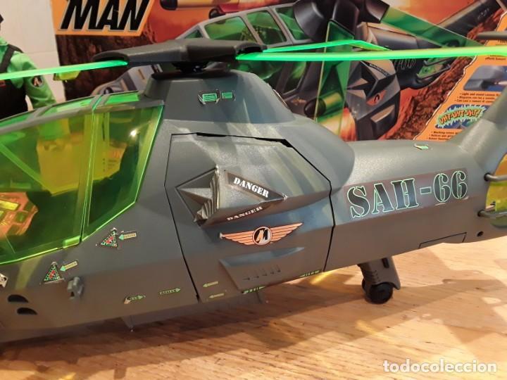 Action man: Maxicopter con piloto, en caja años 90, - Foto 3 - 197103407