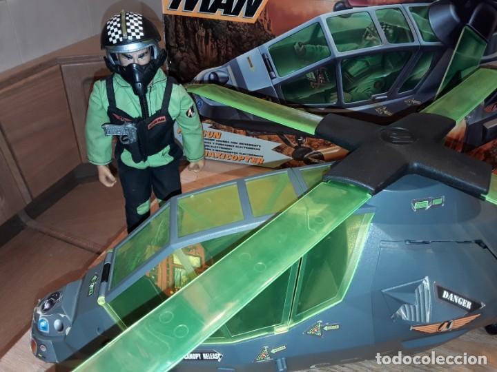 Action man: Maxicopter con piloto, en caja años 90, - Foto 5 - 197103407