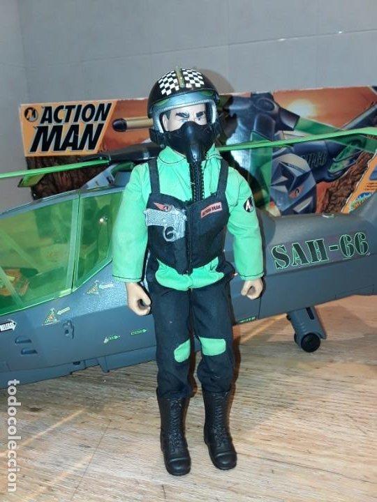 Action man: Maxicopter con piloto, en caja años 90, - Foto 8 - 197103407