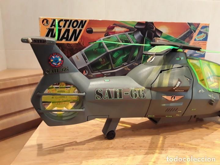 Action man: Maxicopter con piloto, en caja años 90, - Foto 9 - 197103407