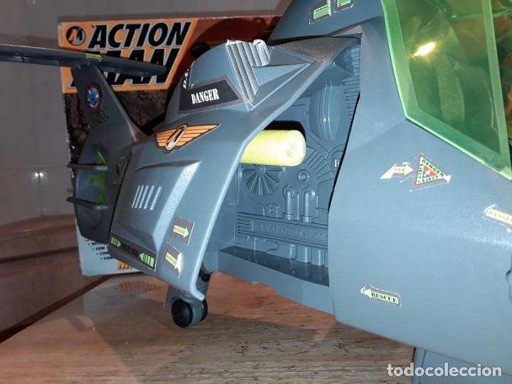 Action man: Maxicopter con piloto, en caja años 90, - Foto 17 - 197103407