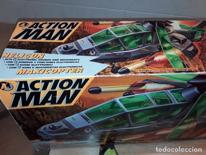 Action man: Maxicopter con piloto, en caja años 90, - Foto 20 - 197103407