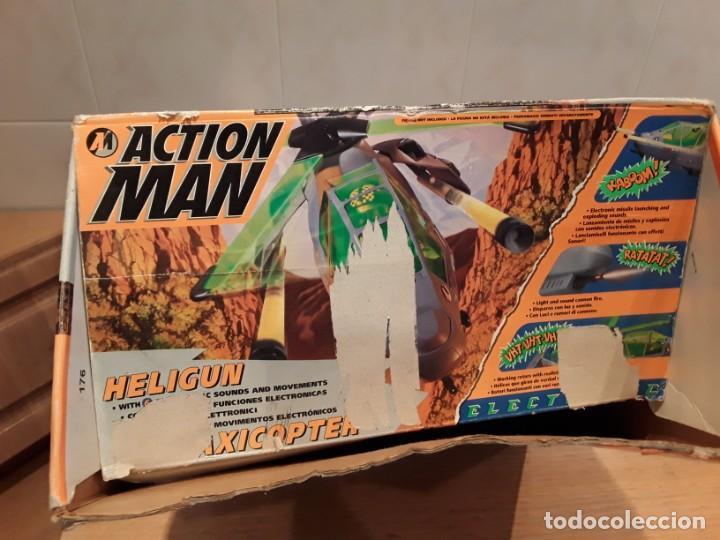 Action man: Maxicopter con piloto, en caja años 90, - Foto 22 - 197103407