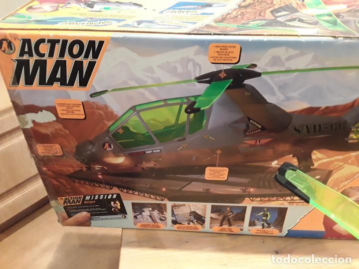 Action man: Maxicopter con piloto, en caja años 90, - Foto 23 - 197103407