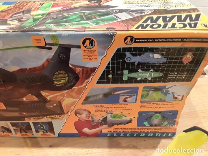 Action man: Maxicopter con piloto, en caja años 90, - Foto 24 - 197103407
