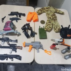 Action man: LOTE ACCESORIOS ACTION MAN. Lote 198854785