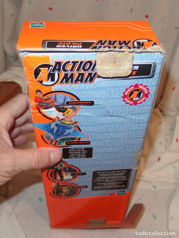 Action man: ACTION MAN DRIVER PILOT,HASBRO,CAJA ORIGINAL,2002,A ESTRENAR - Foto 7 - 51611484
