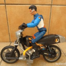 Action man: ACTION MAN HASBRO 2004 + MOTO 1100 TS ACTION MAN. Lote 126189875