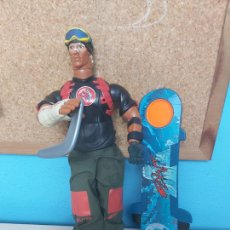Action man: ANTIGUO MUÑECO ACTION MAN - SNOWBOARD FLYNT - HASBRO 2004. Lote 205137853