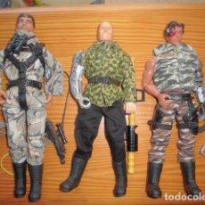 Action man: LOTE UN ACTION MAN HASBRO + MAX STEEL + PSYCHO MATTEL, TAMAÑO GEYPERMAN 1/6. Lote 206074388