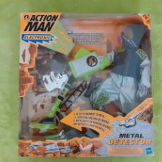 Action man: SET ACTION MAN METAL DETECTOR. NUEVO EN CAJA HASBRO. Lote 207150445