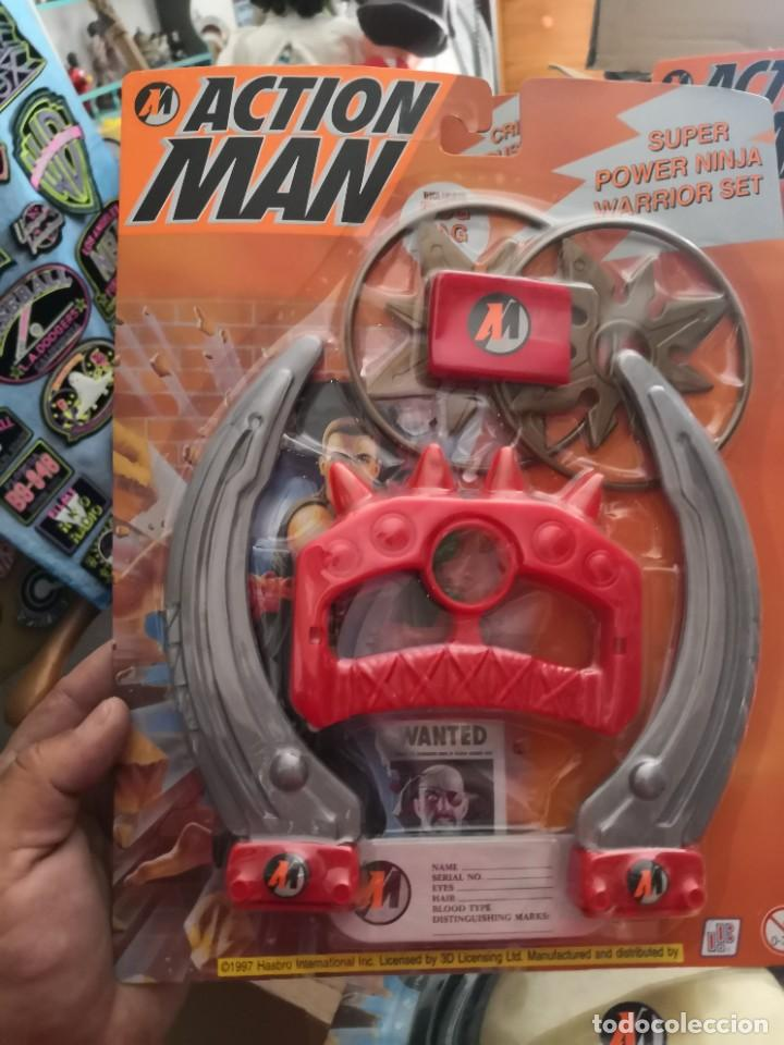 Action man: Pack 4 Blister: action man accesorios años 90 Hasbro - Foto 3 - 208212140