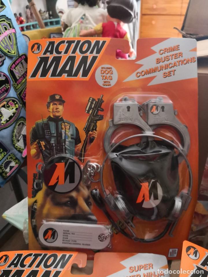 Action man: Pack 4 Blister: action man accesorios años 90 Hasbro - Foto 5 - 208212140