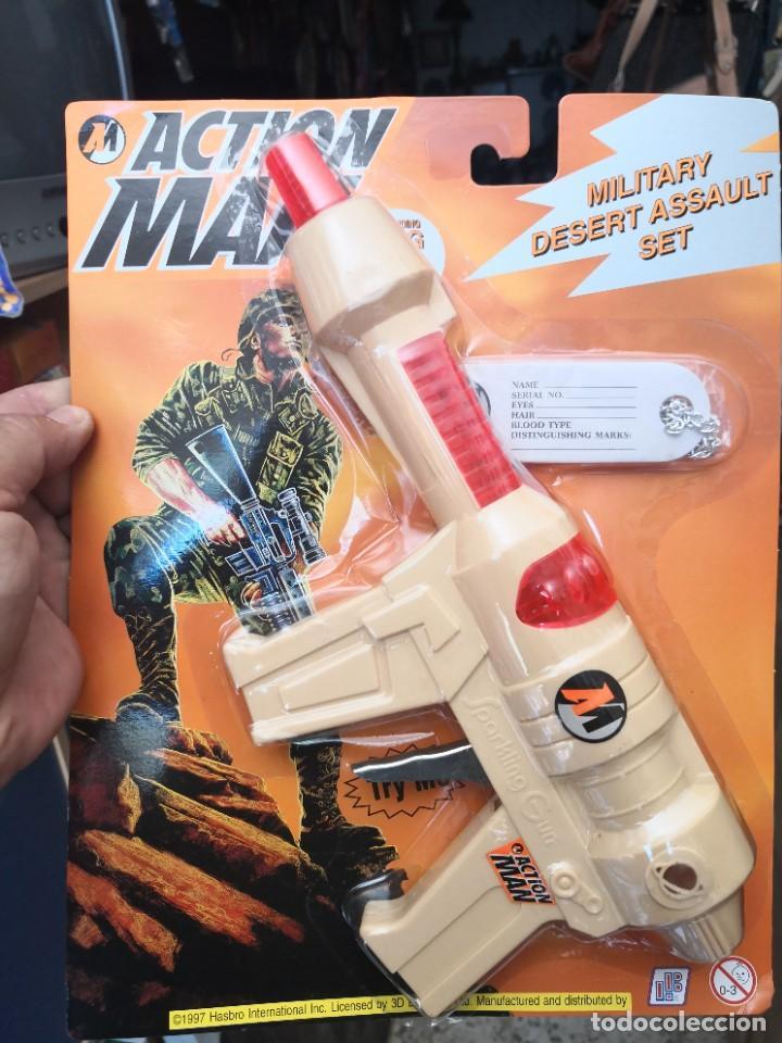 Action man: Blister Pistola friccion action man accesorios años 90 Hasbro - Foto 3 - 208292253