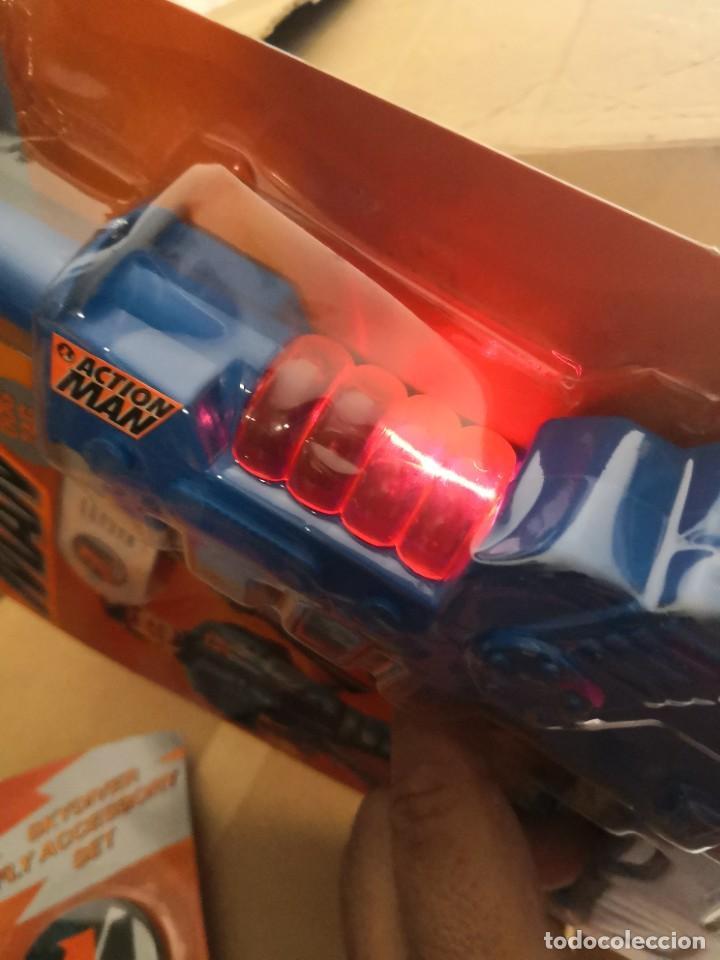 Action man: Blister Pistola friccion action man accesorios años 90 Hasbro - Foto 2 - 208292755