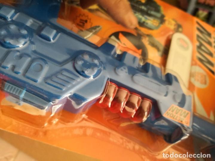 Action man: Blister Pistola friccion action man accesorios años 90 Hasbro - Foto 3 - 208292755