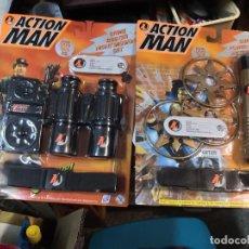 Action man: PACK 2 BLISTER CRIME BUSTER ACTION MAN Y POWER NINJA MAN AÑOS 90 HASBRO.. Lote 208372291