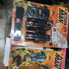 Action man: 2 BLISTER ACTION MAN CRIME BUSTER LINTERNA 4 COLORES Y NIGHT MISSION ( AÑO 1997 )HASBRO. Lote 208372578