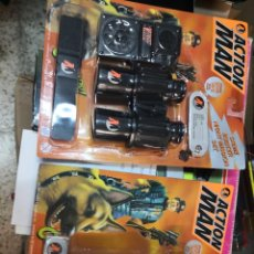 Action man: 2 BLISTER ACTION MAN CRIME BUSTER LINTERNA 4 COLORES Y NIGHT MISSION ( AÑO 1997 )HASBRO. Lote 208372591