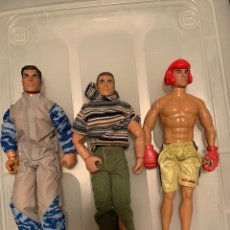 Action man: 3 FIGURAS ACTION MAN. Lote 208491485