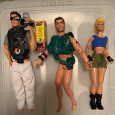 Action man: 3 FIGURAS ACTION MAN. Lote 208491600
