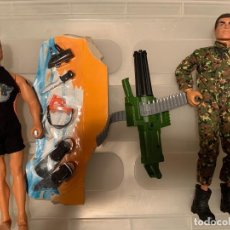 Action man: 2 FIGURAS ACTION MAN. Lote 208491757