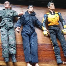 Action man: 3 ACTION MAN. Lote 209248650