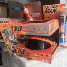 Action man: SUPER PACK ACTION MAN ACCESORIOS 4 PIEZAS. Lote 209835968