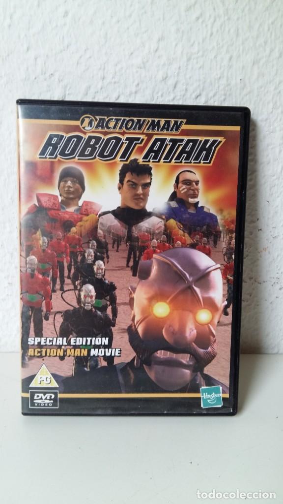 ACTIÓN MAN LA PELÍCULA DE HASBRO ESPECIAL EDICIÓN DVD COMO NUEVO ROBOT ATAK VER FOTOS (Juguetes - Figuras de Acción - Action Man)