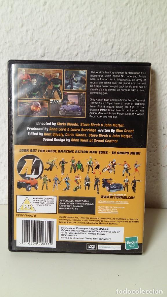Action man: ACTIÓN MAN LA PELÍCULA DE HASBRO ESPECIAL EDICIÓN DVD COMO NUEVO ROBOT ATAK VER FOTOS - Foto 2 - 211574019