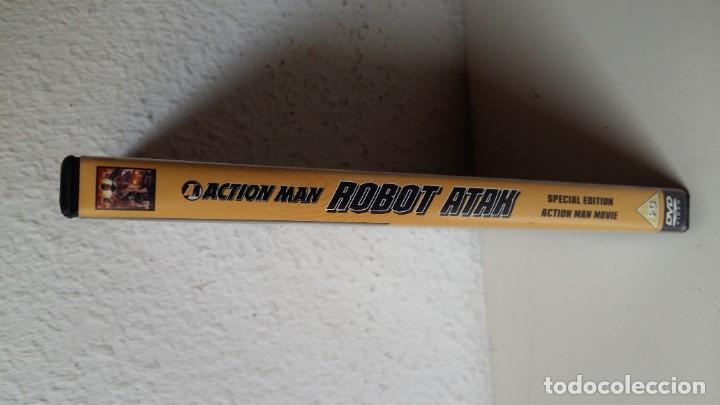 Action man: ACTIÓN MAN LA PELÍCULA DE HASBRO ESPECIAL EDICIÓN DVD COMO NUEVO ROBOT ATAK VER FOTOS - Foto 3 - 211574019