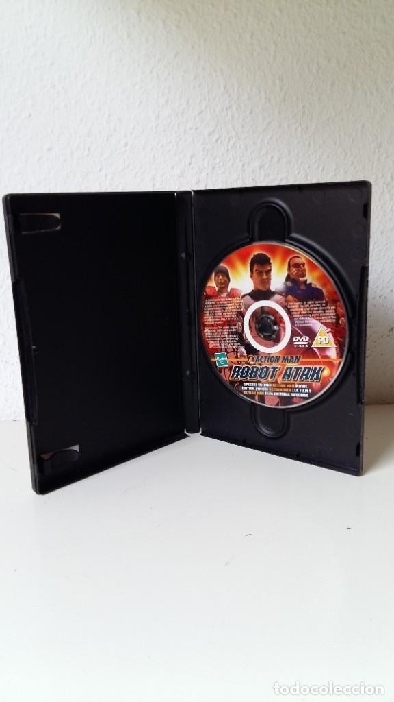 Action man: ACTIÓN MAN LA PELÍCULA DE HASBRO ESPECIAL EDICIÓN DVD COMO NUEVO ROBOT ATAK VER FOTOS - Foto 4 - 211574019