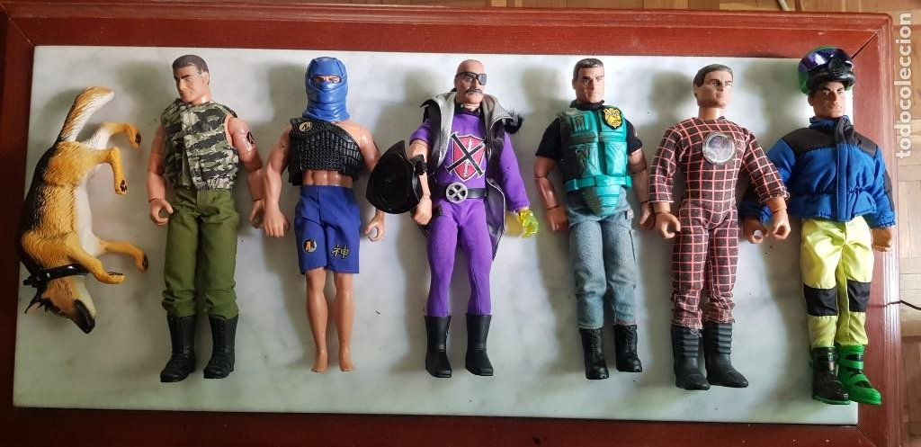 Action man: Lote Figuras action Man - Foto 1 - 212171977