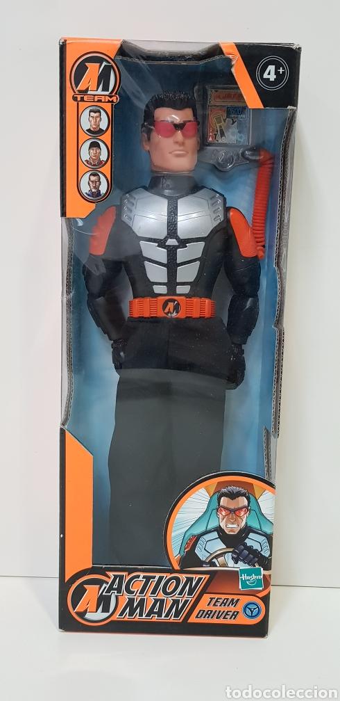 ACTION MAN TEAM DRIVER / 2003 HASBRO / NUEVO SIN ESTRENAR (Juguetes - Figuras de Acción - Action Man)